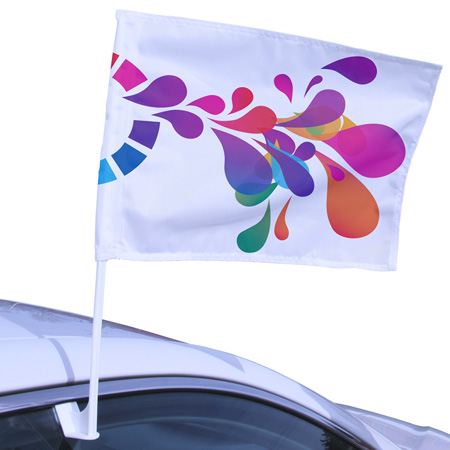 custom car-flag